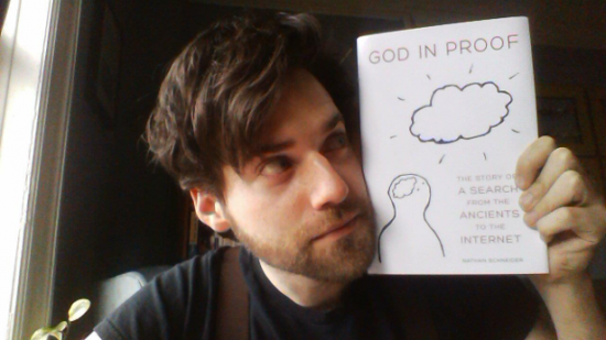 God in Proof with author.