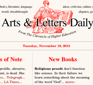 arts letters daily this isn t thank god another book about the proofs for 20509 | Screenshot from 2013 11 19 152244 300x274